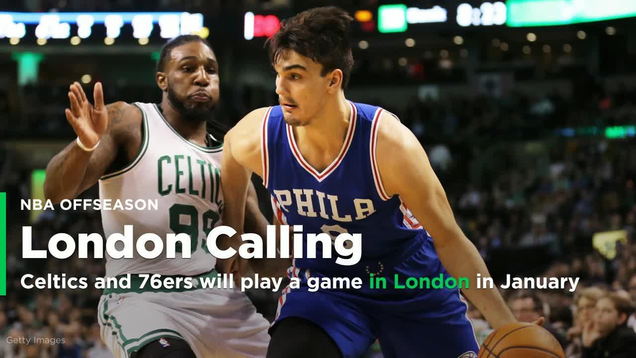 The Celtics and 76ers will play a 2017-18 regular-season ...