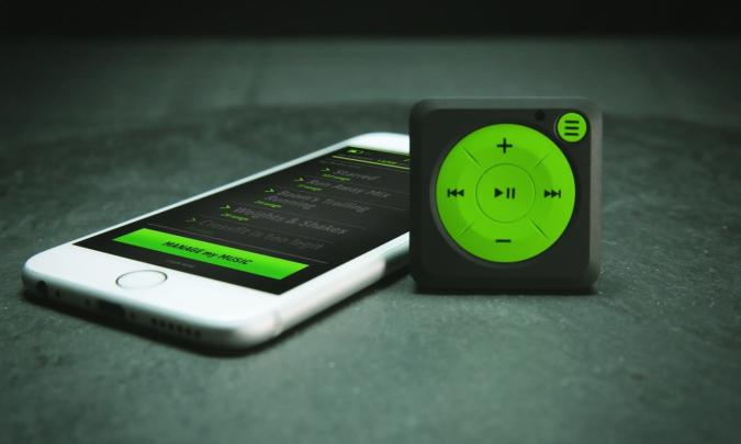 Mighty is like an iPod Shuffle for Spotify