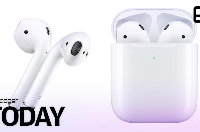 Apple's new AirPods offer longer battery life and wireless charging case