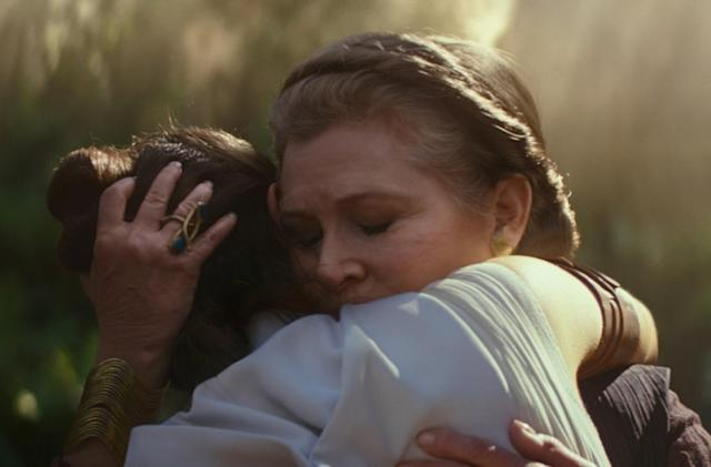 See how VFX artists included Carrie Fisher in 'The Rise of Skywalker'