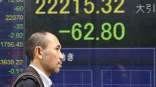 Global stocks slip following sell-off on Wall Street