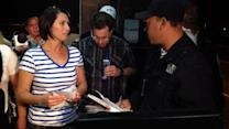 US woman facing drug charge released in Mexico