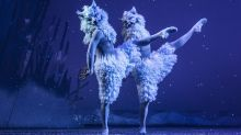 In Pictures: Scottish Ballet rehearses for Snow Queen
