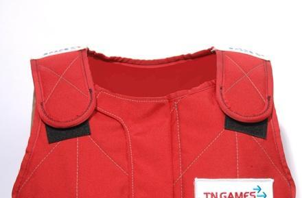 TN Games straps on 3rd Space G-Force/Racing Vest