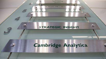 Durchsuchung in Londoner Cambridge-Analytica-Zentrale