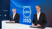 GEAviation et Safran lancent un programme de démonstration de technologies avancées pour les moteurs durables, et prolongent le partenariatCFM jusqu'en2050