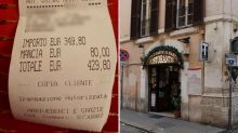 Tourist landed with £380 bill for two plates of food in Rome