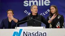 SmileDirectClub opens for trading