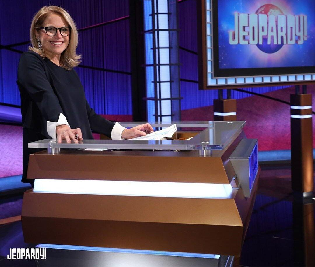 See the First Look at Katie Couric on Jeopardy! — the First Female Guest Host in the Show's History