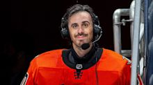 Anaheim Ducks Goalie Ryan Miller Gets Hug from Parents at Emotional Conclusion of Final NHL Game
