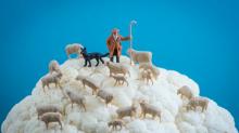Increíbles fotografías muestran pequeños mundos hechos con objetos cotidianos