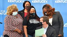 Kentucky limits no-knock warrants more than a year after Breonna Taylor's death