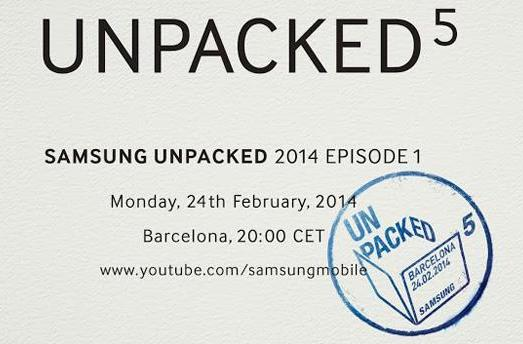 Live from Samsung's 'Unpacked 5' MWC event!