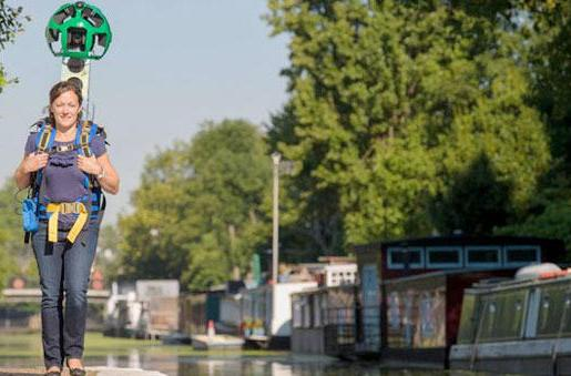British canal boaters, welcome to Google Street View