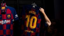 Messi's father tells Spanish league his son is free to leave