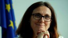EU ready to open talks with U.S. to fix trade row - Malmstrom
