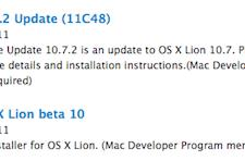 New OS X 10.7.2 and iCloud beta builds seeded to developers