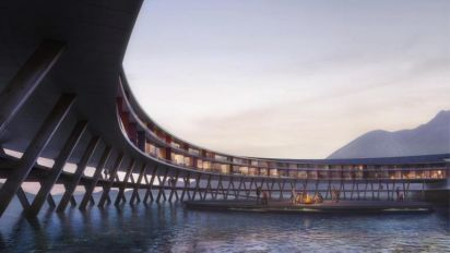 Norway are building the world's first 'energy positive' hotel