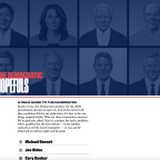 Apple News launches a guide to the 2020 Democratic candidates and debates