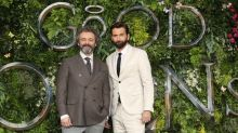 'Good Omens' for five-time dad David Tennant's matching baby announcement with co-star Michael Sheen