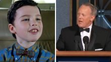 The only person who would talk to Sean Spicer at the Emmys was 'Young Sheldon'