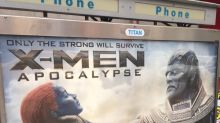 Anger Over X-Men Posters Showing Jennifer Lawrence Being Strangled