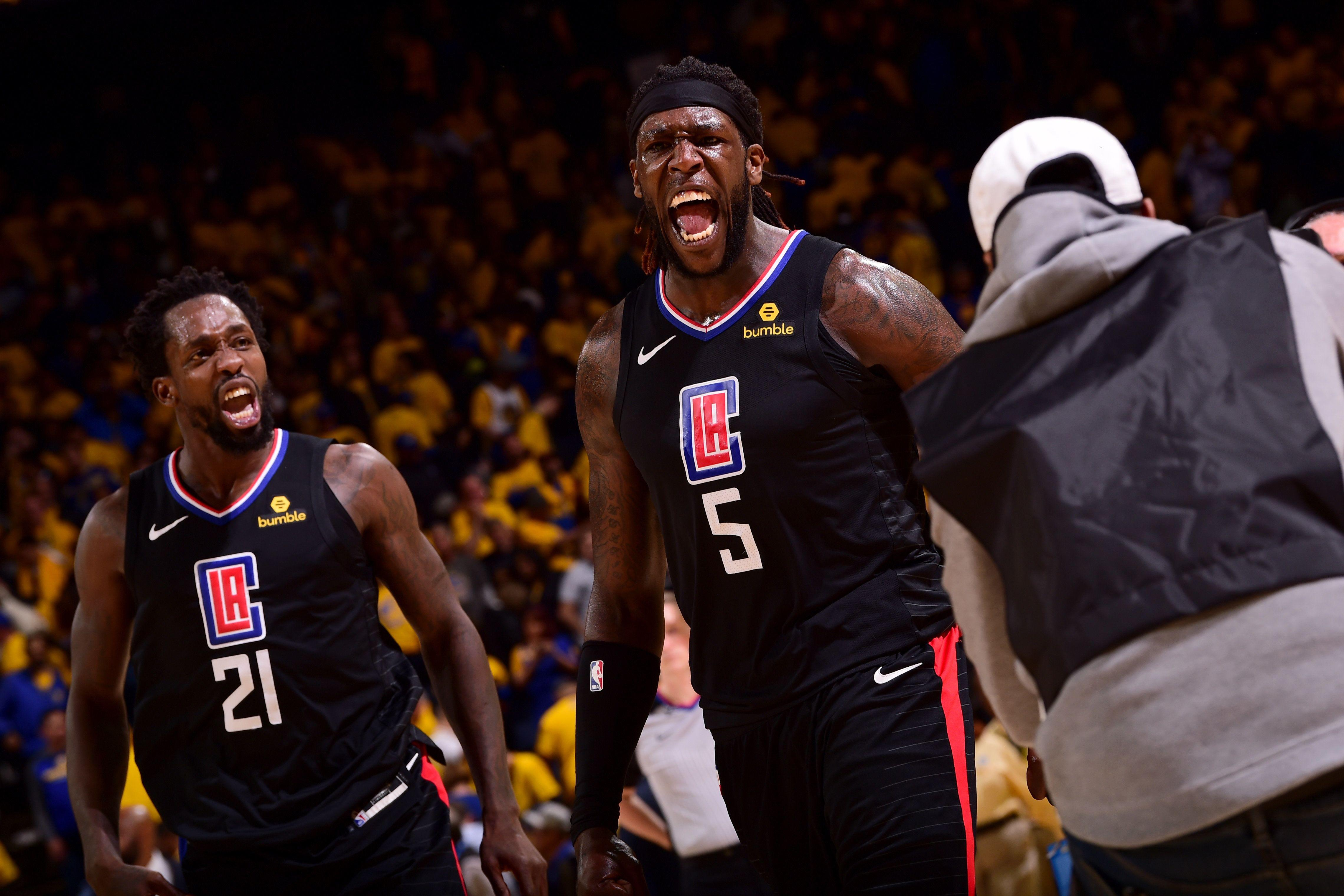 a9ac2f5ba88e Clippers stun Golden State with record fightback in NBA playoffs