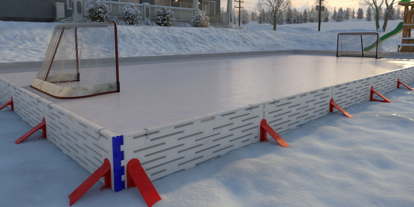 Build Your Own Ice Rink In Your Backyard In Just 1 Hour