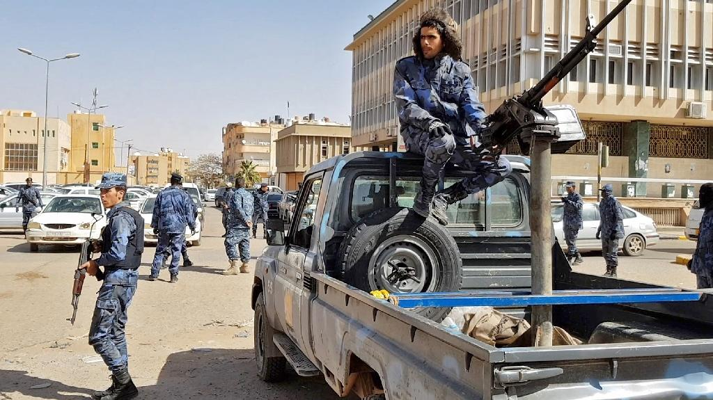 Haftar's forces already overran most of the remote oases and oilfields of the desert south earlier this year, including its main city Sebha (AFP Photo/-)