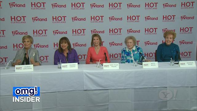 The Ladies of 'Mary Tyler Moore' Reunite For 'Hot in Cleveland'