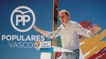Alonso dice al PNV que mientras esté con Bildu no cuente con los votos del PP