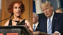 Kathy Griffin says she can't get coronavirus test at 'major hospital,' calls out President Trump: 'He's lying'