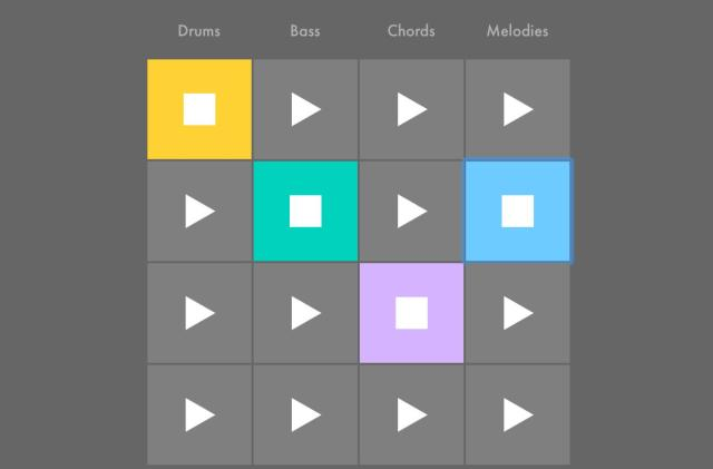 Ableton's interactive lessons teach the basics of music production