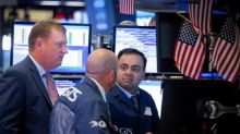 Wall Street falls as CSX results signal damage from trade tensions