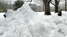 Late-season snowstorm throws U.S. Northeast for a loop