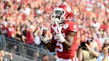 Should Marquise Brown wear No. 5 for the Ravens?