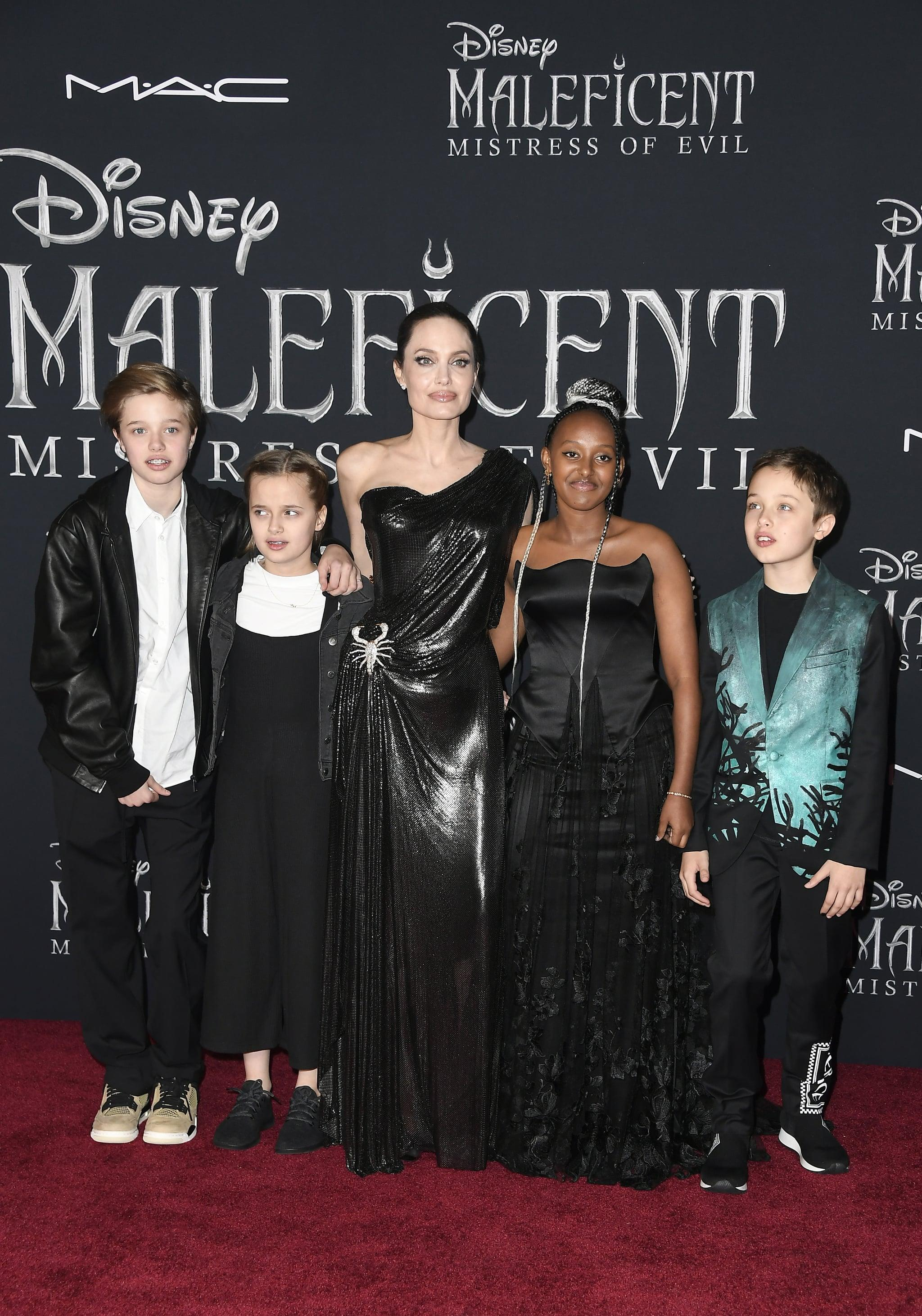 Angelina Jolie S Kids Continue Stealing The Show On The