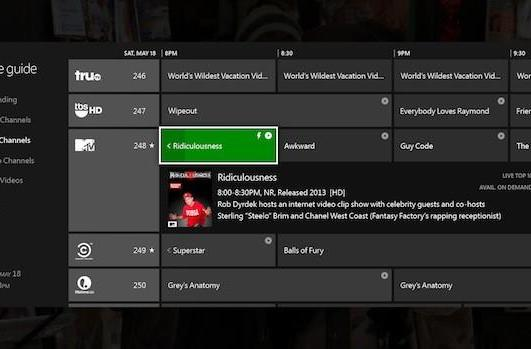 The Xbox One and live TV -- here's what to expect