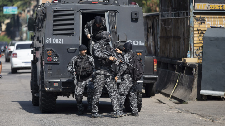 Police drug raid in Brazil leaves 25 dead