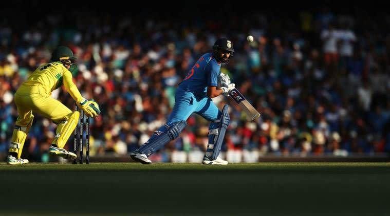 Rohit Sharma scored his 22nd ODI century against Australia at SCG