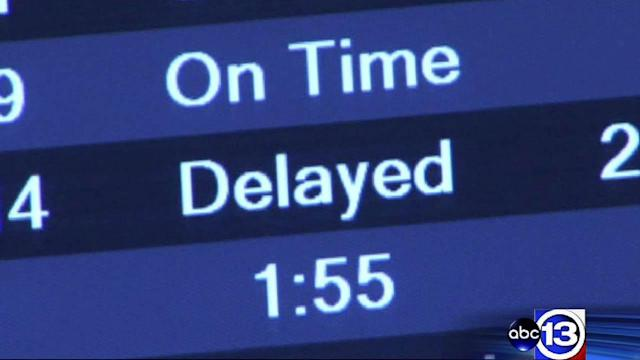 Leave extra time for air travel this week