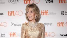 Jane Fonda goes for the gold on day 3 of TIFF