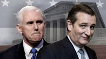 Mike Pence called Ted Cruz to talk about Trump's Supreme Court options