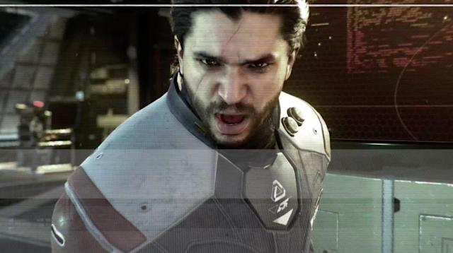 Jon Snow is evil and angry in 'Call of Duty: Infinite Warfare'