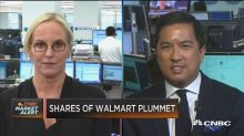 The future of Walmart is stores, digital merging together...