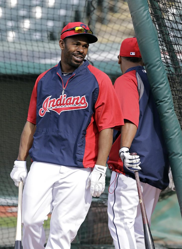 Indians OF Bourn returns to lineup after injury