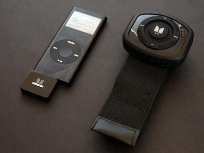 Monster's iEZClick wireless RF remote for iPod