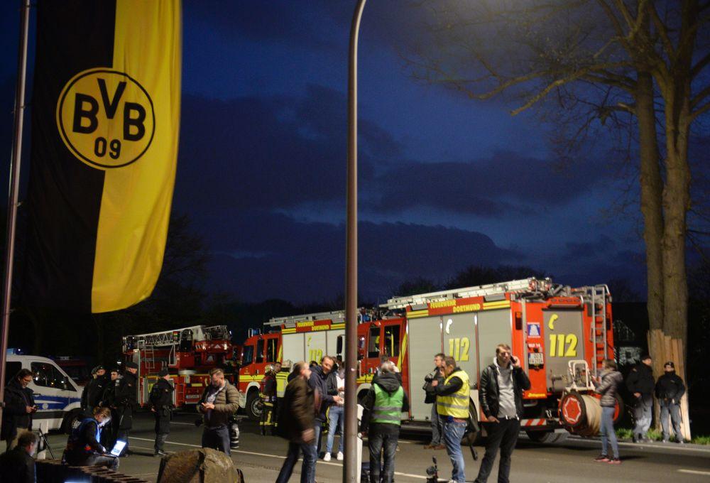 Verletzter Polizist bei Anschlag auf Dortmunder Mannschaftsbus