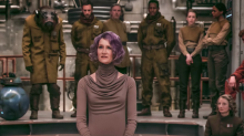 Proof Laura Dern said 'pew-pew' while firing blaster in 'The Last Jedi'