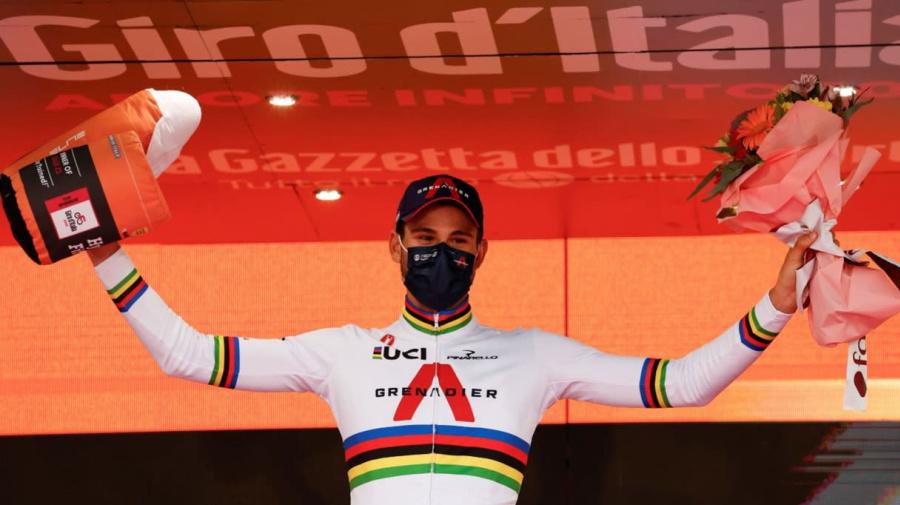 Per Filippo Ganna la vittoria più bella